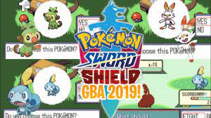 Pokemon Sword and Shield GBA with Scorbunny, Sobble & Grookey! (Download  Link) 2019! - YouTube