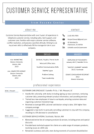 Modern Resume For Product Specialist Customer Service Representative Resume Examples Resume Genius