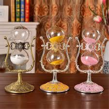 1 hour hourglass rotating hourglass metal antique 60 minutes flip 30cm sand timer
