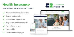 Online Health Insurance Quotes Enchanting Health Insurance Insurance WordPress Theme By Rayoflightt