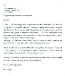 Hardship Letter For Loan Modification Template 13 Reinadela Selva