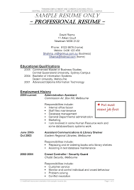 Exelent Resume Bodyguard Pictures Documentation Template Example
