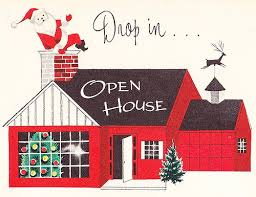 Image result for CLIPART OF CHRISTMAS OPEN HOUSE