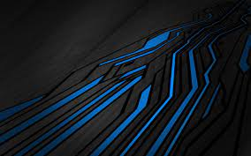 abstract, blue lines :: Wallpapers