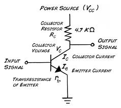 Ce Amplifier Design Values Experiment Transistor Circuit Design