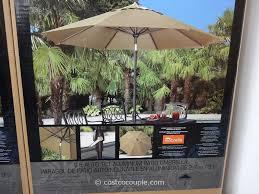 patio umbrellas costco. Delighful Umbrellas 9 Ft Auto Tilt Aluminum Patio Umbrella Costco 3  In Umbrellas T