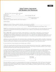10 Free Partnership Agreement Form 1mundoreal