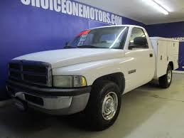 2001 Used Dodge Ram 2500 5.9 24V Cummins Service Body with Liftgate ...