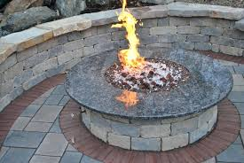 gas fire pit table fire tables fire pits round propane gas fire pit table