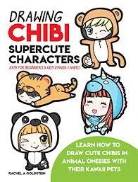 drawing chibi supercute characters easy for beginners kids manga anime learn
