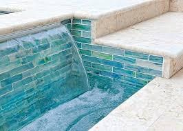 interior design glass tile pool waterline unique swimming patterns water line tiles form the interior designer