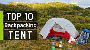 Top 10 Best <b>Ultralight Backpacking Tents</b> - YouTube