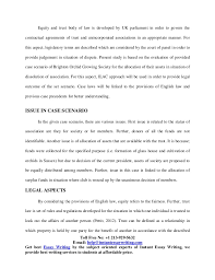 sample on equity and trusts by instant essay writing sample report on equity and trusts 2