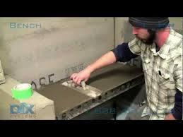 how to install dix systems shower bench for tile shower