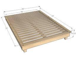 making a platform bed frame diy platform bed frame with storage