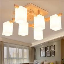 wood ceiling lighting. Exellent Lighting Nordic Simple Wood Ceiling Light PL601 And Lighting S