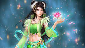 3D Fantasy Girl wallpaper