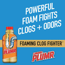 liquid plumr pro strength clog destroyer foaming clog fighter 17 oz com