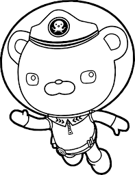 Small Picture Captain Barnacles Helmet Underwater Coloring Page Wecoloringpage