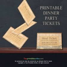 Free Meal Ticket Template Inspiration Meal Ticket Template Wphub