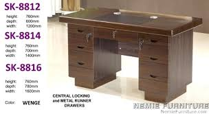 front office table. MOdel: SK8. Front Office Table R