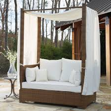 Enjoy the Weather Outdoor Daybed with Canopy — Romdeals Home Ideas