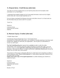 Sample Letter Of Credit Impressive Dispute Letter To Credit Bureau Template Printable Receipt Template