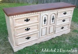 Distressed antique furniture Rustic Finally Use Foam Brush To Apply At Least Two Coats Of Polyurethane To The Top Of The Furniture Piece Be Sure To Follow Manufacturers Instructions Addicted To Decorating How To Paint Distress And Antique Piece Of Furniture Addicted