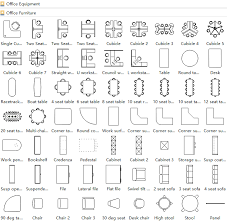 office layout software. Office Layout Symbols Software