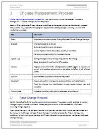 Change Management Proposal Template - Pccc.us