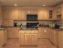 Natural Maple Wood Kitchen Cabinets Affordable Discounts Ft In Light