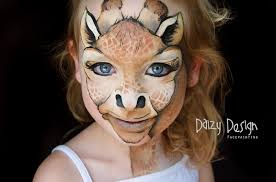 makeup totally amazing face painting art by new zealand mom giraffe tutorial gosik