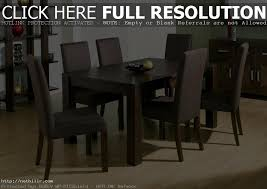 stylish black wood dining table and chairs black and wood dining table small round black dining