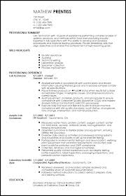 Free Professional Lab Technician Resume Template Resume Now