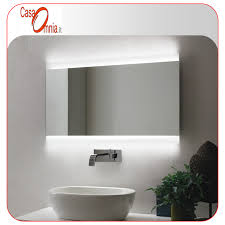 BATHROOM MIRROR LED ANTI FOG BLUETOOTH V&C VELA CasaOmnia