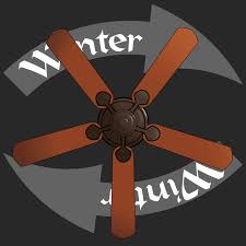 winter ceiling fan blade direction summer