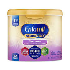Enfamil Newborn Formula Feeding Chart Enfamil Gentlease Neuropro Baby Formula 20 Oz Powder Reusable Tub