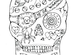 Flaming Skull Coloring Pages Flaming Skull By On Coloring Pages