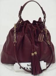 ❤️coach madison pinnacle leather large drawstring shoulder bag 26343 msrp   798
