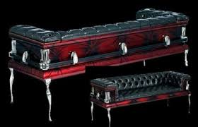 Coffin Couches Cool Hunting Throughout Coffin Couch Coffin Couch