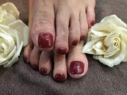 Nail Salon Freestyle秋カラー単色ネイル