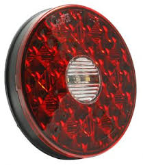 grote industries led signal lighting 4 round led stop tail turn lights integrated backup