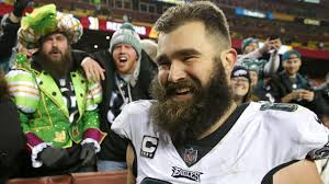 Jason Kelce realizes his lifelong dream of becoming <b>a father</b>