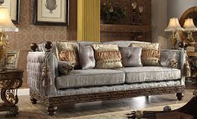 Victorian Living Room Furniture Homey Design Hd 1212 S Athens Euro Living Room Sofa
