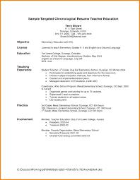 4 Elementary Teacher Resume Format Cashier Resumes