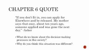 The Giver Book Quotes