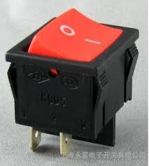 6a 250vac red light two way on off mini spst rocker switch 4 pin 6a 250vac red light two way on off mini spst rocker switch 4 pin black base