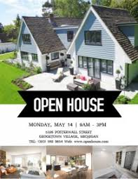 realtor open house flyers customizable design templates for open house postermywall