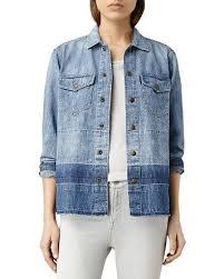 $ALLSAINTS Cal Gradient Denim Shirt <b>Jacket</b> - Bloomingdale's ...