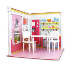 Dollhouse Kitchen Furniture And Kitchen Interchangeable 18 Inch Dollhouse Playscape